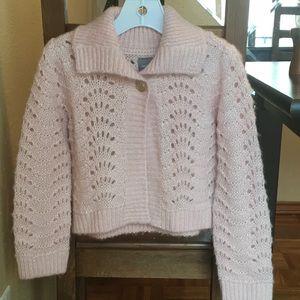NWOT Girl Knit Sweater / Cardigan Size 5